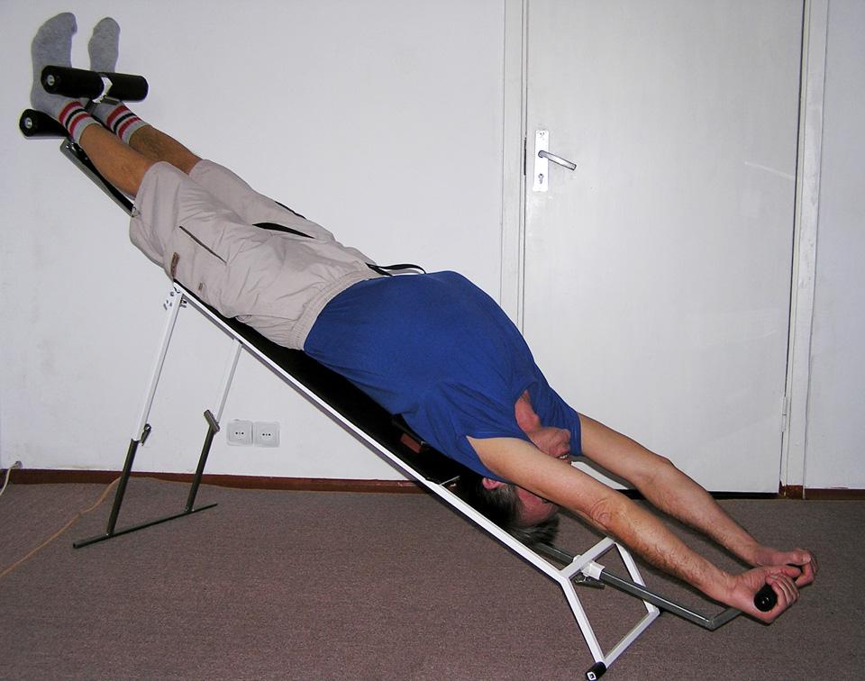 упражнения на вытяжение позвоночника с картинками настройки