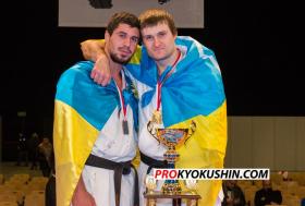Украинские чемпионы Европы по Киокушинкай