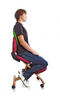 Колінний стілець із спинкою
